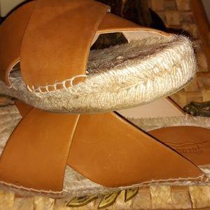 Soludos Leather Espadrille Sandals